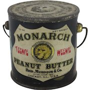 Monarch Peanut Butter Pail featuring Teenie Weenie Characters