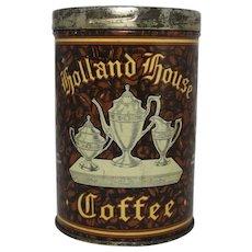 Vintage Holland House Coffee Tin