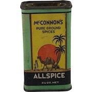 "Vintage ""McConnon's"" Spice Container"