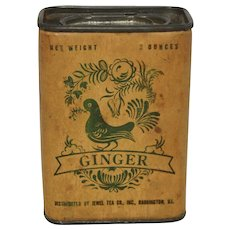 Vintage Jewel Tea Ginger Spice Container