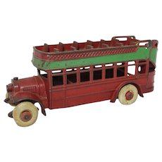 Kenton Cast Iron Double Decker City Bus