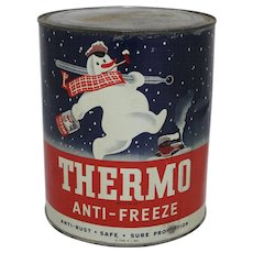 1940's One Gallon Thermo Anti-Freeze Can