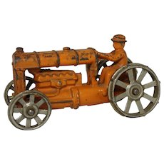 1930's Dent Hardware  Cast Iron Tractor