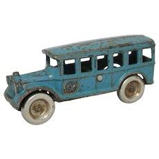"Arcade 5"" Cast Iron Bus"