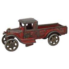 "Small Arcade Cast Iron ""Express"" Truck"