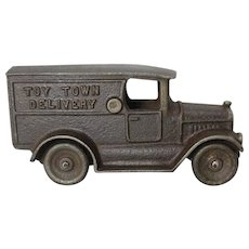 "Rare Kilgore Cast Iron 6"" ""Toy Town Truck"""