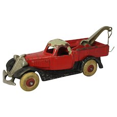 Hubley 3-Color Larger Size Terraplane Tow Truck/ Wrecker
