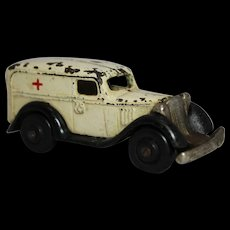 Very Rare 1939 Arcade Chevy Ambulance