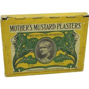 Vintage Mother's Mustard Plasters Tin