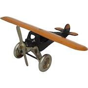 "Vintage Arcade ""Monocoupe"" Medium Size Airplane"