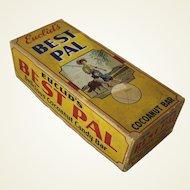 "Vintage ""Best Pal"" Candy Bar Box"