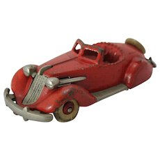 "Hubley Larger 6 3/4"" Studebaker Roadster"