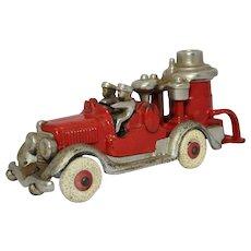 """1934-1940 """"Hubley"""" 2 Man Fire Pumper Truck"""