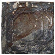 Turn of Century Embossed Tin Ceiling Tile