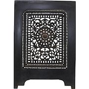 1870's Victorian Cast Iron Fireplace Summer Cover