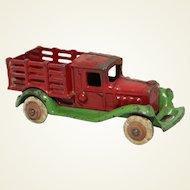 Late 1920's Hubley Take-Apart Farm Stake Truck