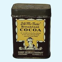 Sample Size McNess Breakfast Cocoa Litho Tin