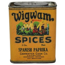 Wigwam Brand Spanish Paprika Spice Container