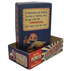 1941-1945 Powerhouse Candy Bar Box