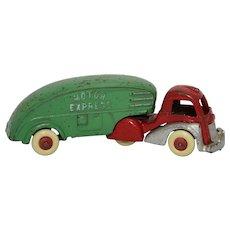 1930's Hubley Motor Express Semi-Truck