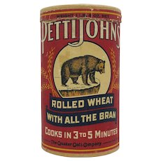 Pettijohn's Rolled Wheat Cereal Cylinder