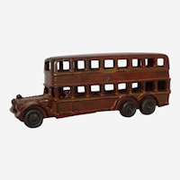 Rare Late 1920's A.C. Williams Double Decker Bus