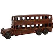Rare Late 1920's A.C. Williams Double Decker Bus