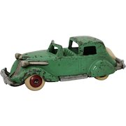 "1930's Cast Iron Hubley Studebaker Town Car (Smaller 5"" Version)"