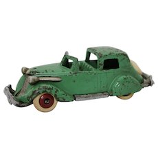 "1930's Cast Iron Hubley Studebaker Town Car (Smaller 5"" Version)"