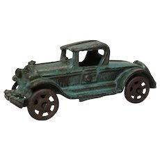 "Early 1930's Cast Iron A.C. Williams 5"" Toy Roadster"