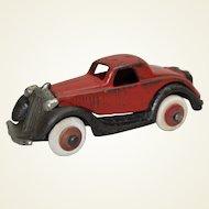 Rare 1934 Mini Cast Iron Hubley Terraplane Coup