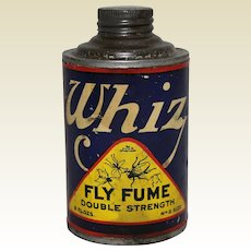 """Vintage """"Whiz"""" Unopened Can of Fly Fum"""