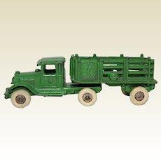 "Late 1920's A.C. Williams 'Coast to Coast' 7"" Stake Truck"