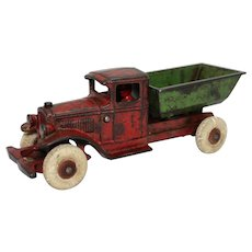 1932-1935 Larger Version Kenton Dump Truck with Original Driver