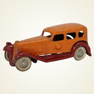 "1933-34 Hubley Detachable Body 4"" Cast Iron Sedan"