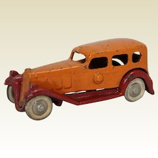 "1933-34 Hubley Detachable Body 4"" Cast Iron Sedan"