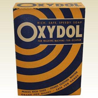 1930-1955 Unopened 'Oxydol' Large Size Laundry Detergent Box