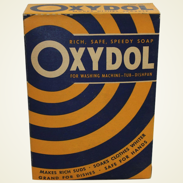 Image result for Oxydol 1950