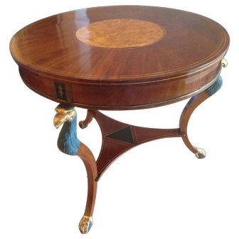 Antique Russian Center Table