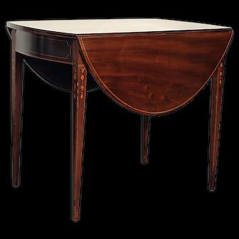 Antique Inlaid Baltimore Pembroke Table