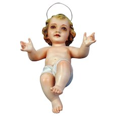 Olot Spain Baby Jesus Figure - Red Tag Sale Item