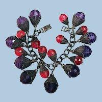 Vintage Fruity Fifties NAPIER Bracelet
