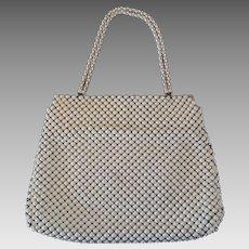 Whiting and Davis Alumesh Handbag