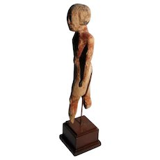 Ancient EGYPTIAN Wood TOMB Official Model Figure After Life Middle Kingdom Dynasty XII, Circa 1985-1773 B.C. 4000 Years Old Statue Sculpture
