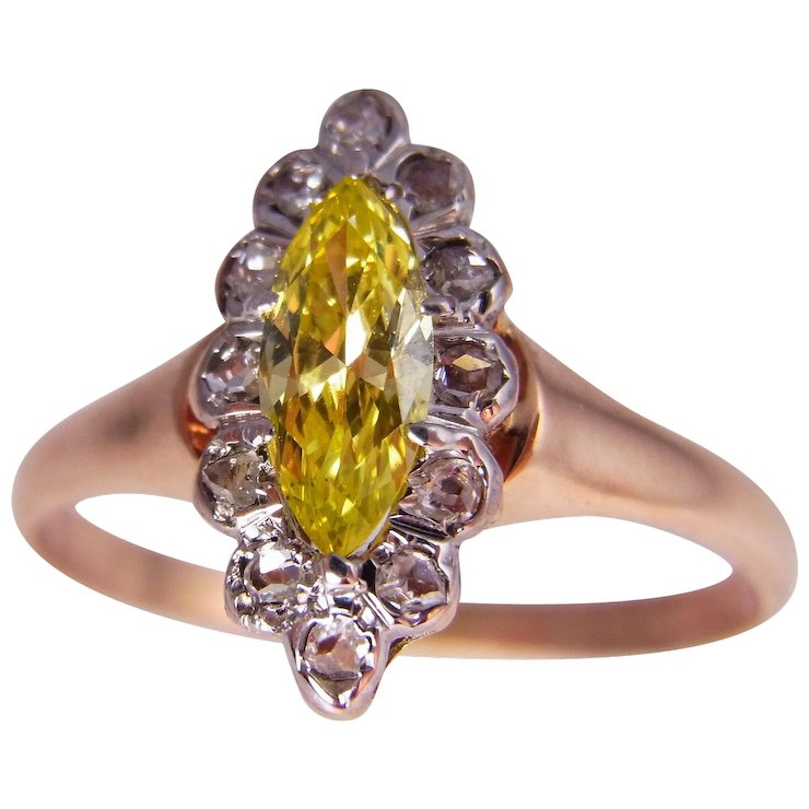 canary usa engagement diamond yellow ring rings uk