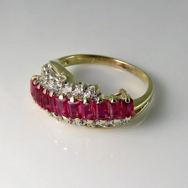 Ruby diamond ring ruby wedding ring ruby wedding band crossover ruby diamond ring ruby wedding ring ruby wedding band crossover ring bypass engagement ring bypass diamond junglespirit Image collections