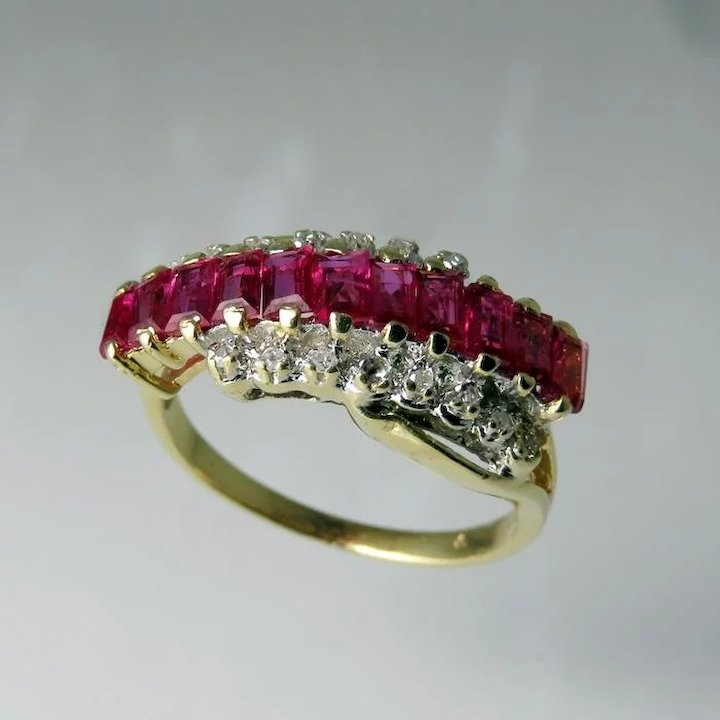 Ruby diamond ring ruby wedding ring ruby wedding band crossover ring ruby diamond ring ruby wedding ring ruby wedding band crossover ring bypass engagement ring bypass diamond junglespirit Image collections
