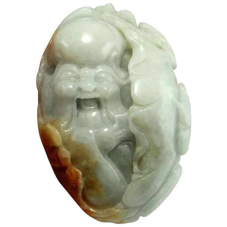 Natural jade pendant necklace antique jade statue jade sculpture natural jade pendant necklace antique jade statue jade sculpture jade carving nephrite jade ornament chinese antique aloadofball Gallery