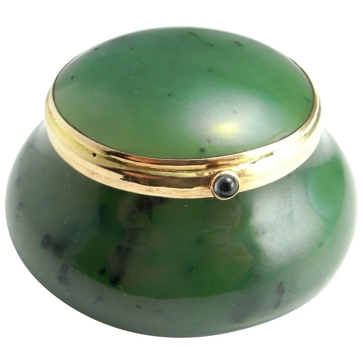 Nephrite jade jewelry box jewelry holder jewelry display gemstone nephrite jade jewelry box jewelry holder jewelry display gemstone box gemstone bowl sapphire cabochon gold box aloadofball Image collections