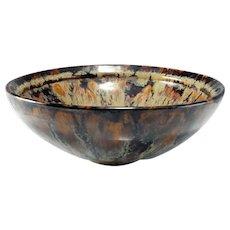 Song Dynasty Hare's Fur Tea Bowl Ancient China Iron Glaze Glazed Bowl Ceramics Stoneware Tea Bowl Chinese Antiques